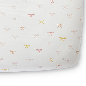 Pehr Organic Cotton Crib Sheet - Jolie Bows
