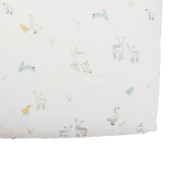 Pehr Organic Cotton Crib Sheet - Just Hatched