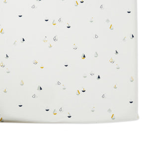 Pehr Organic Cotton Crib Sheet - Sailor