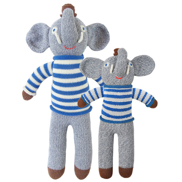 Blabla Knit Doll, Rivier the Elephant - Regular Size - oh baby!