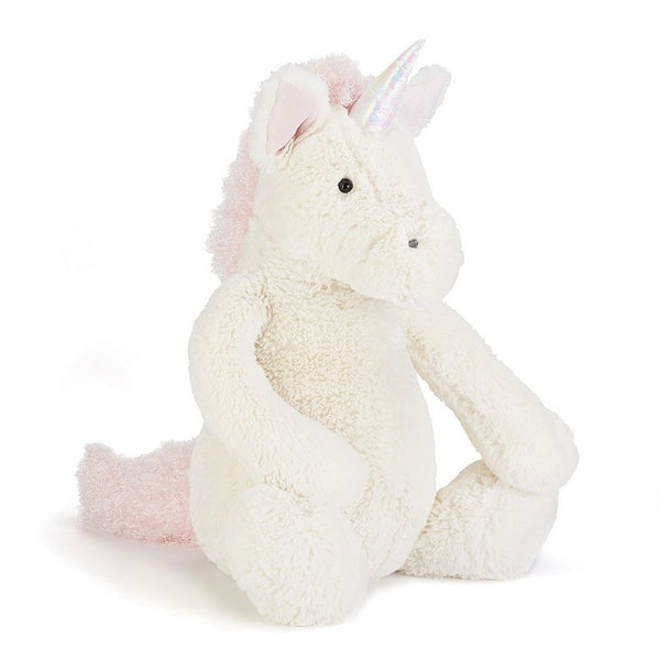 Jellycat Bashful Unicorn Plush Stuffed Animal - Huge - oh baby!