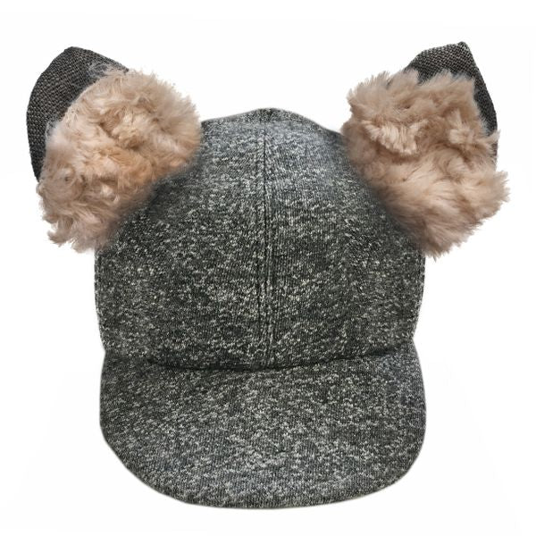 oh baby! Character Hat - Willow Fox - Charcoal Pepper - oh baby!