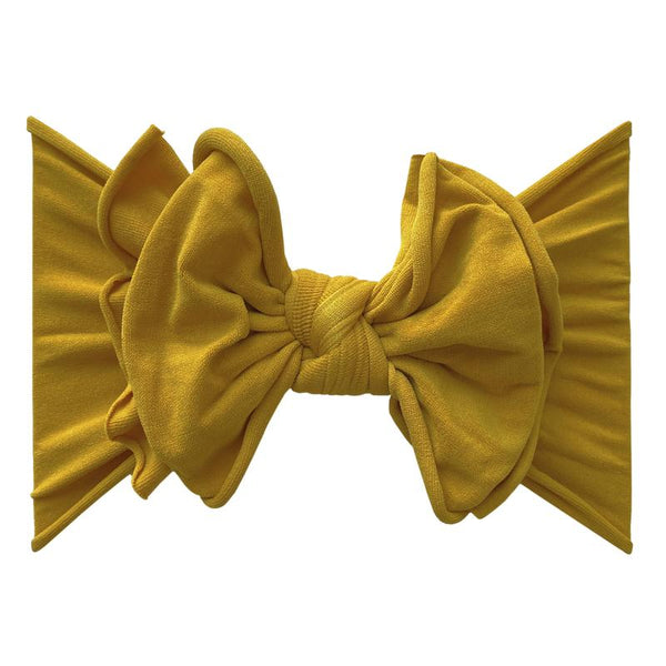 Fab-Bow-Lous-Bow Headband - Gold
