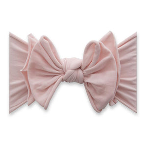 Fab-Bow-Lous Bow Headband - Rose Quartz