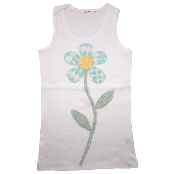 oh baby! Anniversary Vintage Flower Tank Top - Size 8 - oh baby!