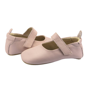 Old Soles Gabrielle Powder Pink Rubber Sole Infant Baby Shoes