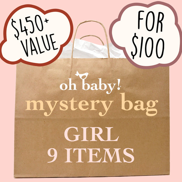 oh baby! Surprise Mystery Bag - Girl - 9 Pack