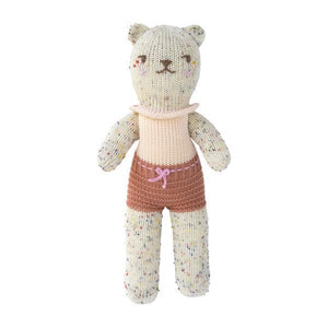 Blabla Knit Doll, Tweedy Bear Grenadine - Mini Size - oh baby!