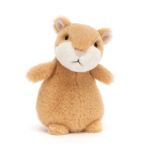 Jellycat Happy Cinnamon Hamster Plush Stuffed Animal