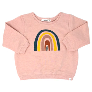 oh baby! Brooklyn Boxy Rainbow, Pale Pink