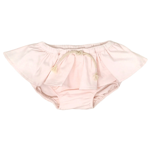 oh baby! Skirted Tushie Diaper Cover - Knit - Petal Pink