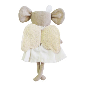 Alimrose Angel Baby Mouse Ivory Gold