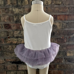 oh baby! Ballet Leotard with Dusty Lavender Mesh Skirt