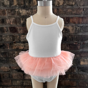 oh baby! Ballet Leotard with Apricot Mesh Skirt
