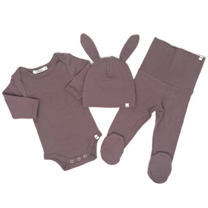 oh baby! Character 3pc Set - Bunny - Lavender