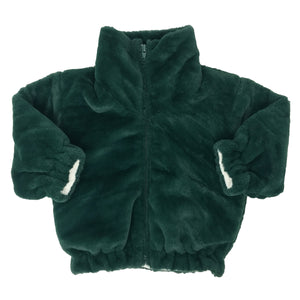 oh baby! Faux Fur Coat in Forest - Adult