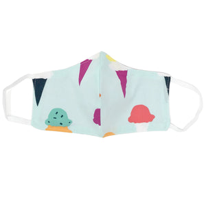oh baby! Children's Face Mask - Ice Cream