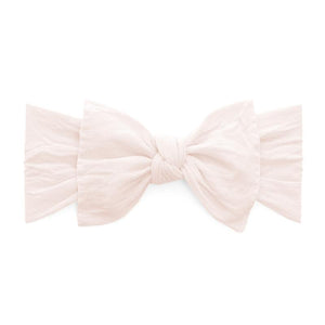 Knot Bow Headband - Ballet Pink - oh baby!