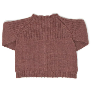 Baby Cardigan - Old Pink