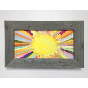 Little Sunshine Framed Art 19x31