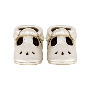 Freshly Picked Mary Jane Infant Baby Shoes - Platinum - oh baby!