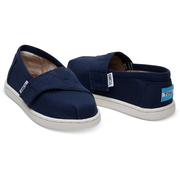 TOMS Navy Canvas Alpargatas