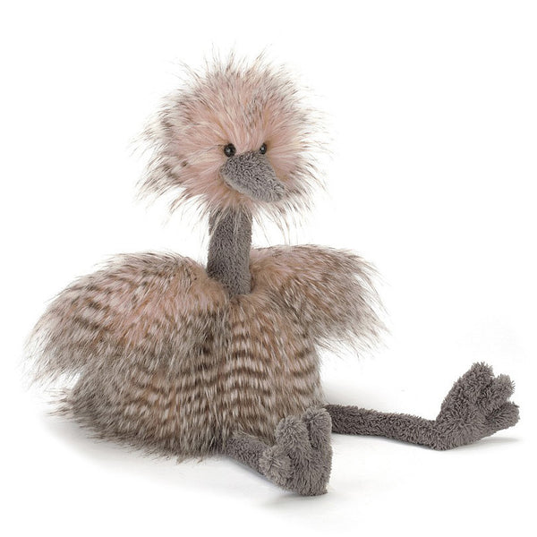 Jellycat Odette Ostrich Plush Stuffed Animal - oh baby!
