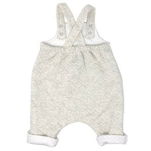 Petit Bateau Quilted Overall with Pocket