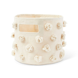 Pehr Pom Pom Pint Canvas Storage Bin - Natural