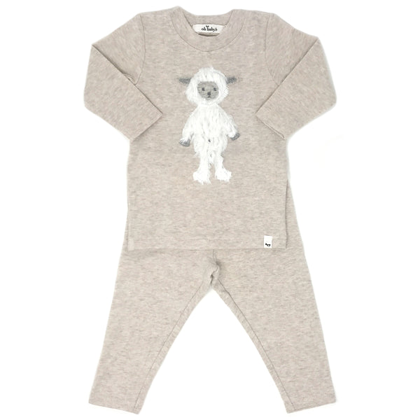 oh baby! Two Piece Set - Ragdoll Lamb - Sand