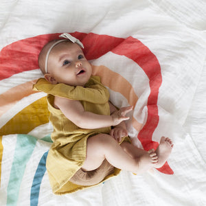 Clementine Kids - Single Swaddle - Rainbow - oh baby!