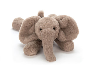 Jellycat Smudge Elephant Plush Stuffed Animal - Medium - oh baby!
