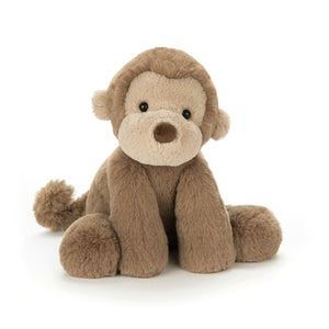 Jellycat Smudge Monkey Plush Stuffed Animal - Medium - oh baby!