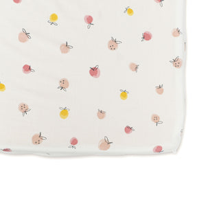 Pehr Crib Sheet - Strawberry Field