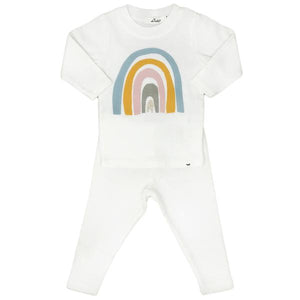 oh baby! Two Piece Set - Spring Rainbow - Cream
