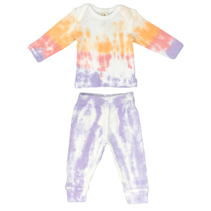 oh baby! Dreamsicle Tie Dye Gift Set