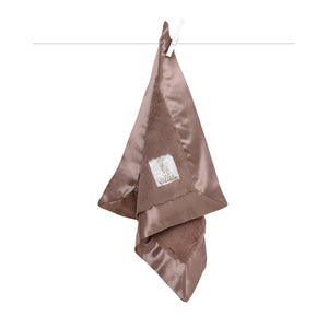 Little Giraffe Luxe Travel Blanky - Taupe - oh baby!