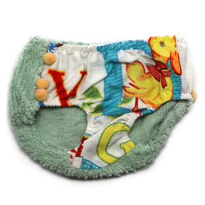 "oh baby! Anniversary Vintage ""One of a Kind"" Tushie Diaper Cover - 3-6 Months - oh baby!"