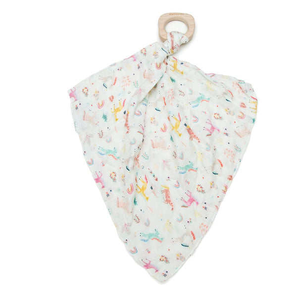 Loulou Lollipop - Lovey Muslin - Unicorn Dream - oh baby!