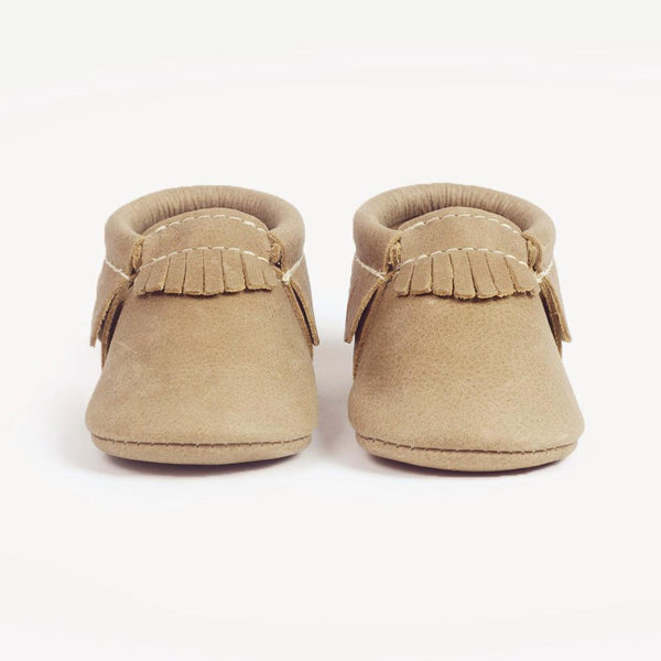 Freshly Picked Moccasins - Weathered Brown - oh baby!