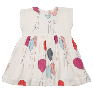 Pink Chicken Adaline Dress - Multi Ballons - Front