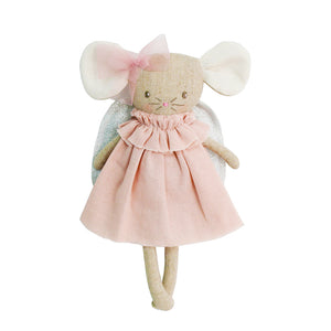 Alimrose Angel Baby Mouse Pink Silver