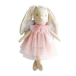 Alimrose Mini Angel Bunny Doll - Pink