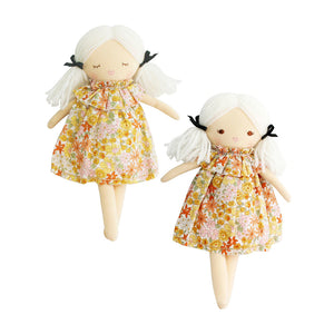 Alimrose Mini Matilda Asleep Awake Doll - Sweet Marigold