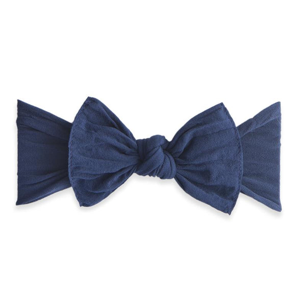 Knot Bow Headband - Navy - oh baby!