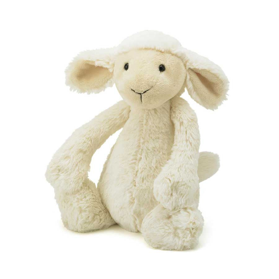 Jellycat Bashful Lamb Plush Stuffed Animal Small