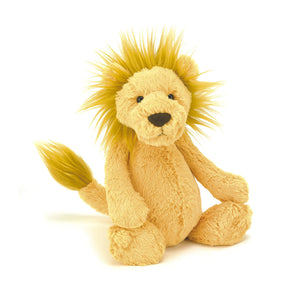 Jellycat Bashful Lion Plush Stuffed Animal - Medium - oh baby!