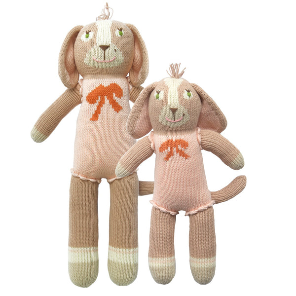 Blabla Knit Doll, Belle the Dog - Mini Size - oh baby!
