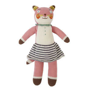Blabla Knit Doll, Suzette the Fox - Rattle