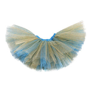 oh baby! Reversible Sparkle Tutu - Blue and Gold